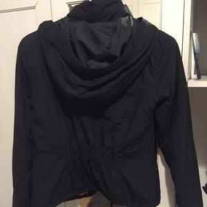 67% off Hollister Jackets & Blazers - Light black puffer coat from ...